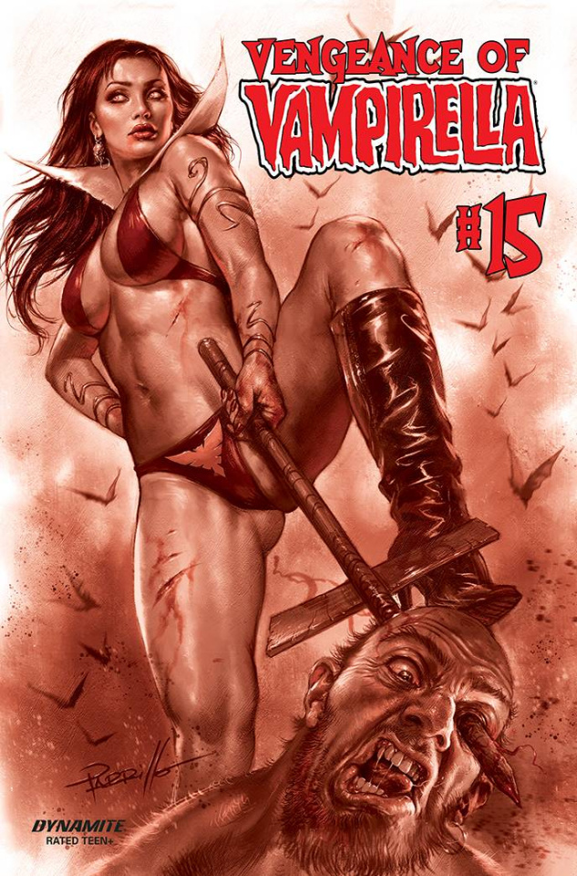 Vengeance of Vampirella #15 (30 Copy Parrillo Tint Cover)