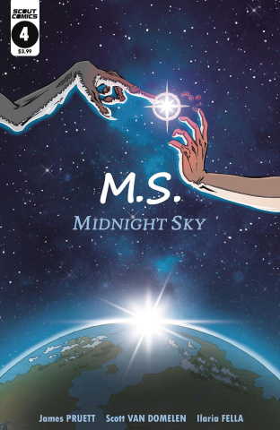 Midnight Sky #4 (Van Domelen E.T. Cover)