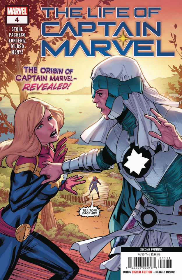 The Life of Captain Marvel #4 (Pacheco 2nd Printing)