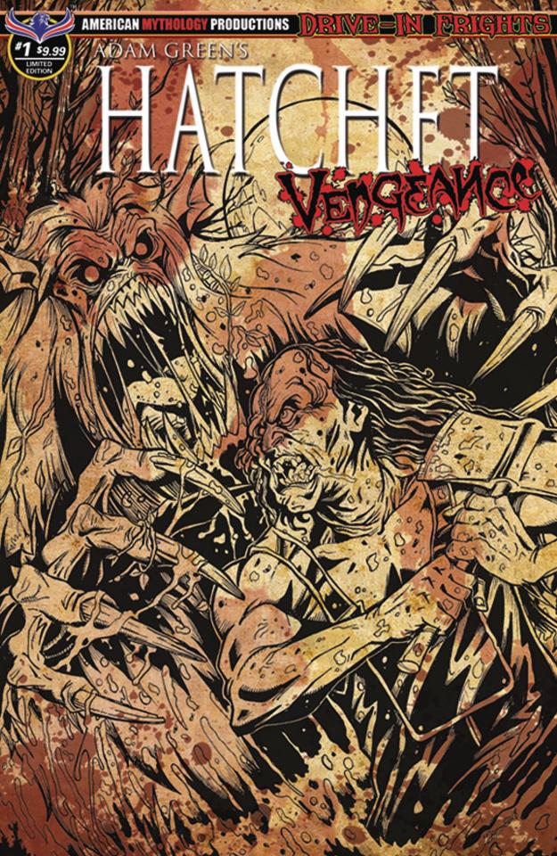 Hatchet: Vengeance #1 (Bloody Horror Cover)