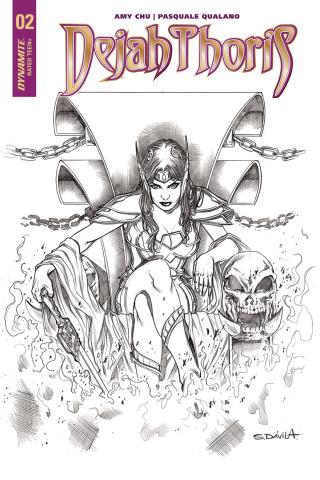 Dejah Thoris #2 (20 Copy Davila B&W Cover)