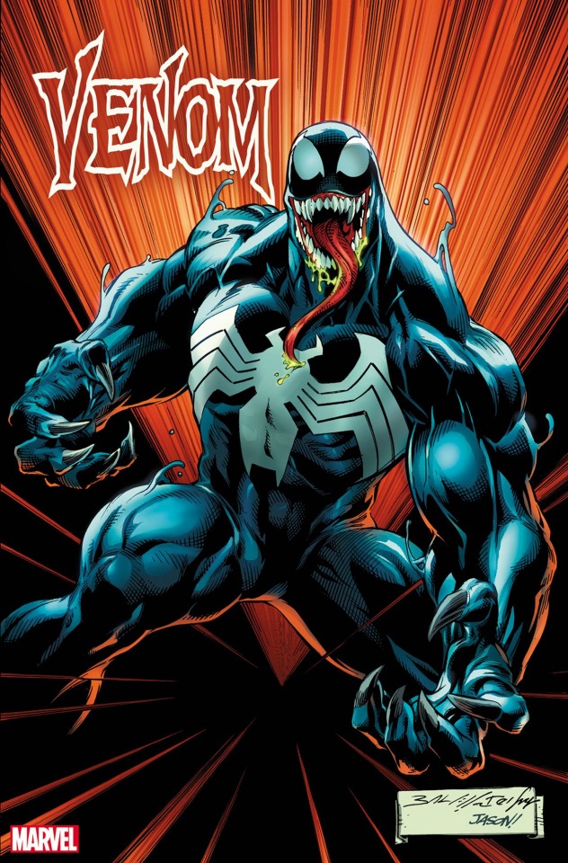 Venom #21 (Bagley Cover)