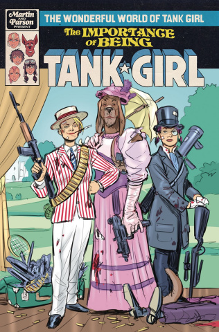 The Wonderful World of Tank Girl #2 (Wahl Cover)