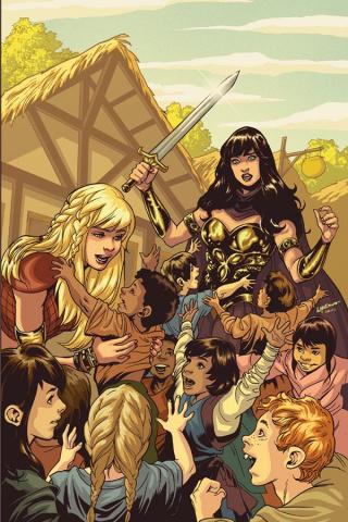Xena: Warrior Princess #1 (Lupacchino Virgin Cover)