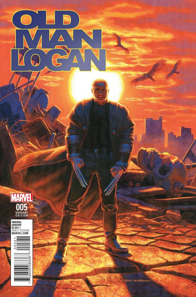 Old Man Logan #5 (Hildebrandt Classic Cover)