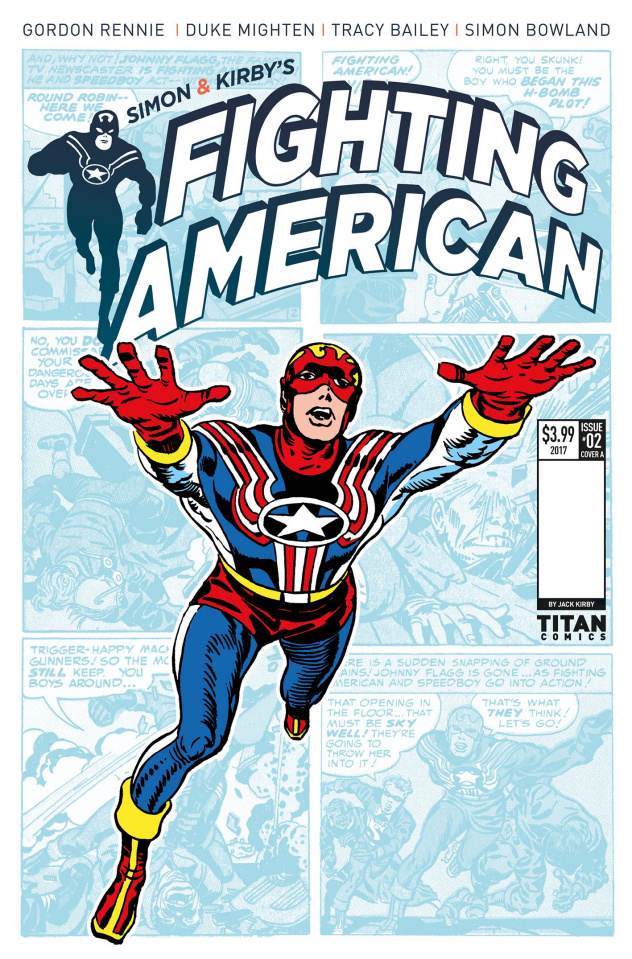 Fighting American #2 (Kirby Cover)