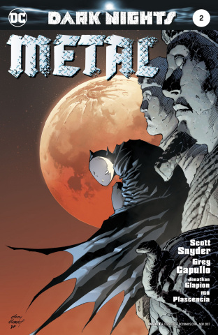 Dark Nights: Metal #2 (Kubert Cover)