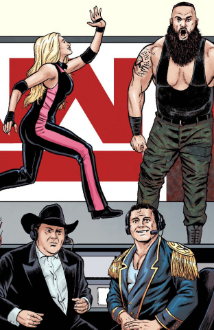 WWE #23 (Schoonover Raw Connecting Cover)