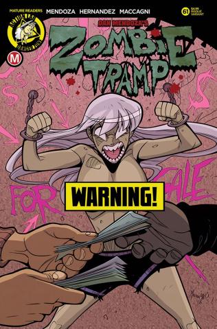 Zombie Tramp #61 (Maccagni Risque Cover)
