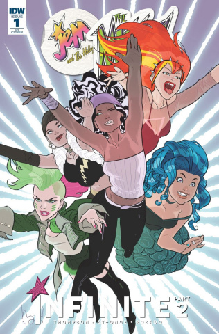 Jem and The Misfits: Infinite #1 (25 Copy Cover)