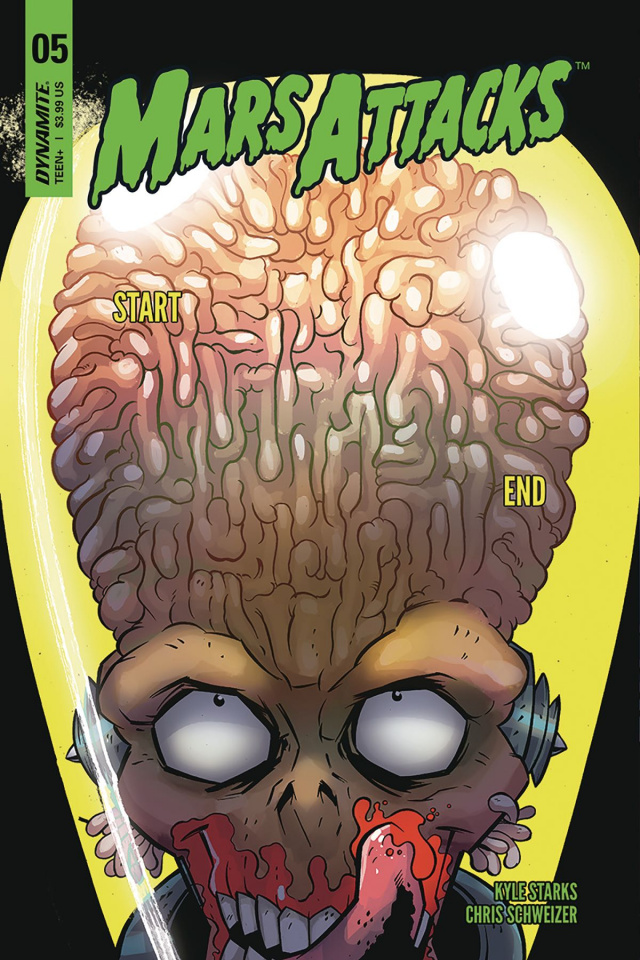 Mars Attacks #5 (Marques Cover)