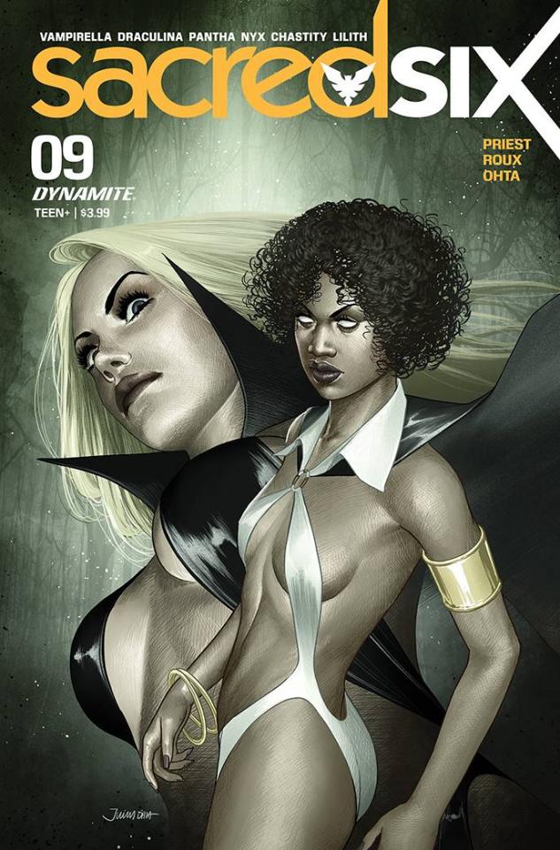 Sacred Six #9 (Premium Julius Ohta Cover)