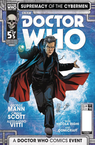 Doctor Who: Supremacy of the Cybermen #5 (Vitti Cover)