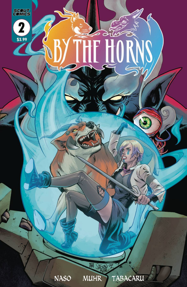 By the Horns #2 (Muhr Cover)