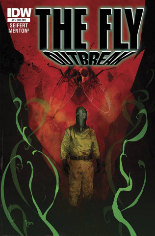 The Fly: Outbreak #2 (Subscription Cover)