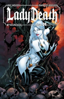Lady Death #24 (Sultry Cover)