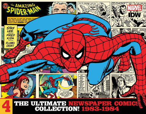 The Amazing Spider-Man: The Ultimate Newspaper Comics Collection Vol. 4: 1983-1984