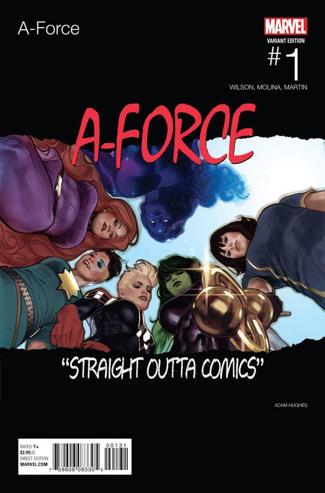 A-Force #1 (Hughes Hip Hop Cover)