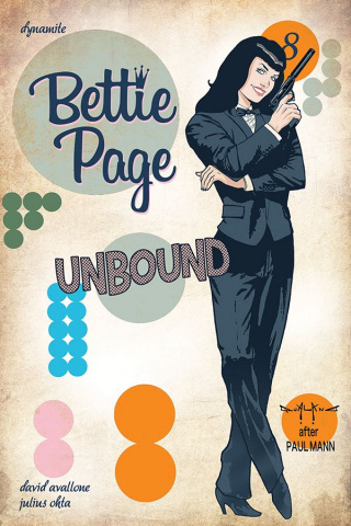 Bettie Page: Unbound #8 (Qualano Cover)