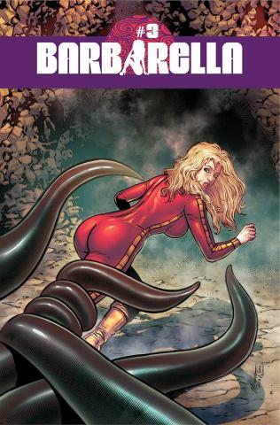 Barbarella #3 (Menna Cover)