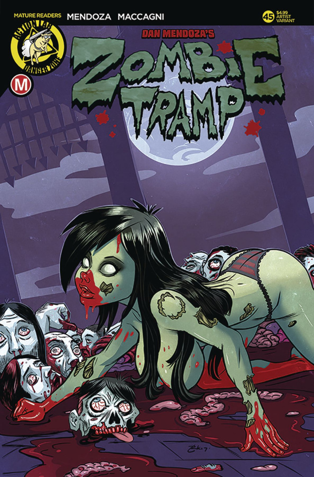 Zombie Tramp #45 (Garcia Cover)