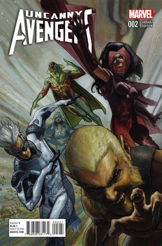 Uncanny Avengers #2 (Bianchi Cover)