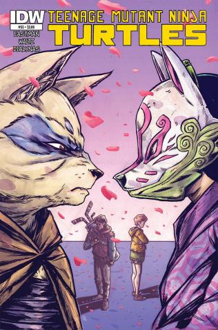 Teenage Mutant Ninja Turtles #55