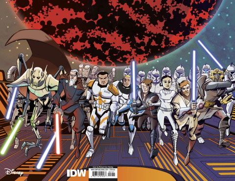 Star Wars Adventures: The Clone Wars #1 (100 Copy Oeming Cover)