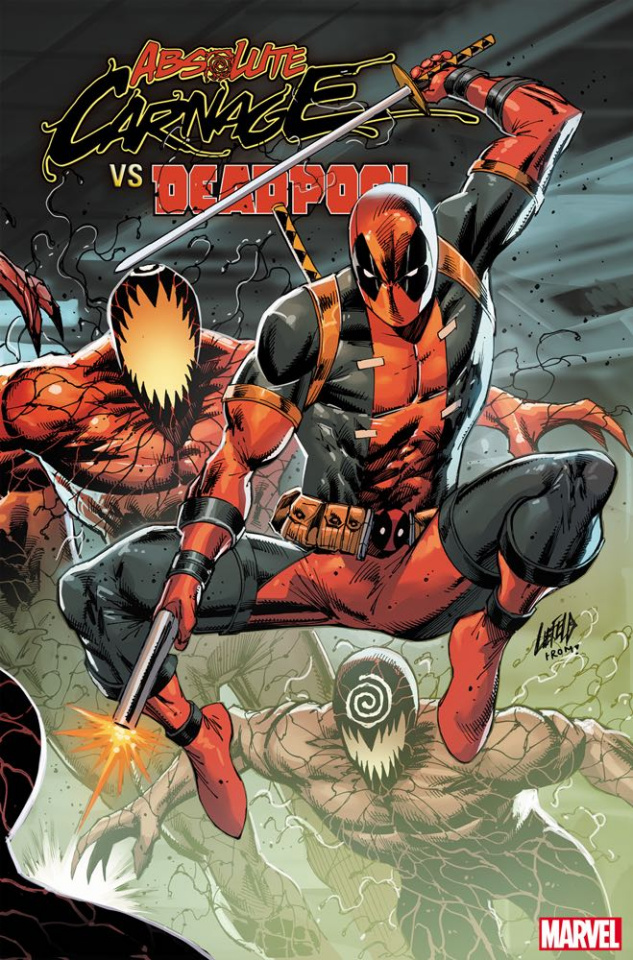 Absolute Carnage vs. Deadpool #3 (Liefeld Connecting Cover)