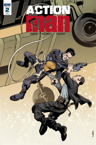 Action Man #2 (10 Copy Cover)