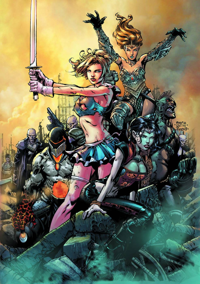 Grimm Fairy Tales: Realm War #1 (Finch Cover)