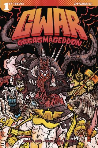 GWAR: Orgasmageddon #1 (Wygman Cover)