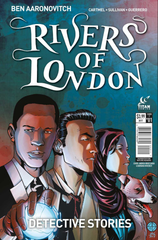Rivers of London: Detective Stories #1 (Broccardo Cover)