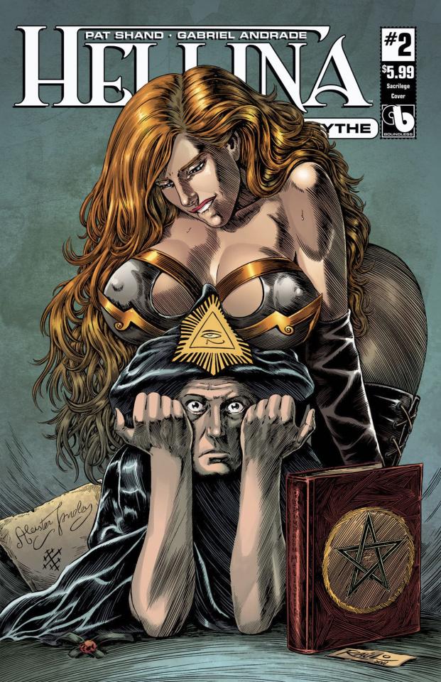 Hellina: Scythe #2 (Sacrilege Cover)