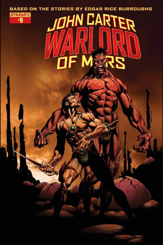 John Carter: Warlord of Mars #9 (Sears Cover)