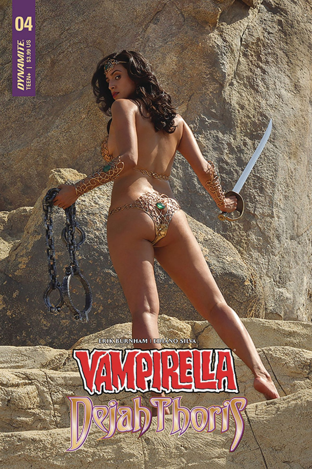 Vampirella / Dejah Thoris #4 (Dejah Thoris Cosplay Cover)