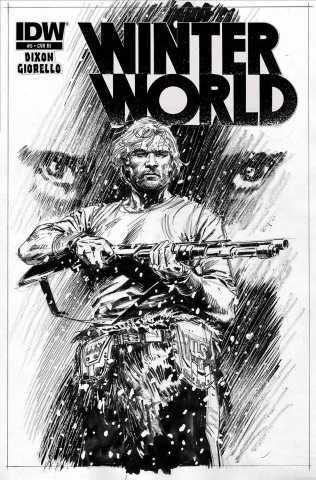 Winterworld #5 (10 Copy Cover)
