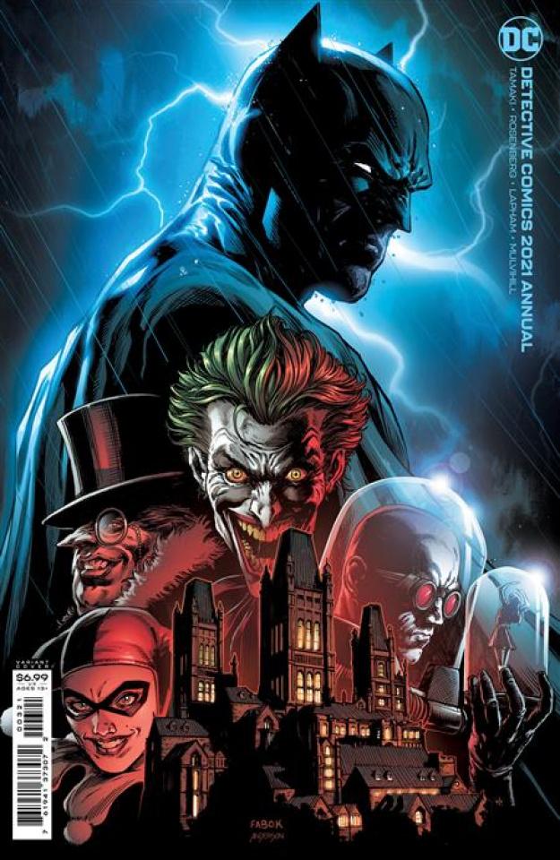 Detective Comics 2021 Annual #1 (Jason Fabok Card Stock Cover)