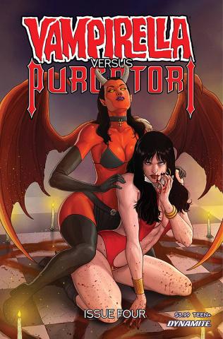 Vampirella vs. Purgatori #4 (Musabekov Cover)