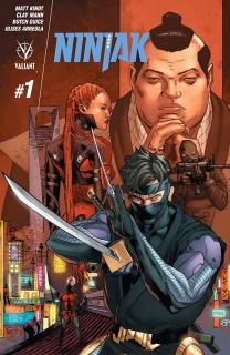Ninjak #1 (Mann Cover)