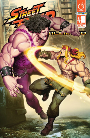 Street Fighter Unlimited #8 (Genzoman Story Cover)