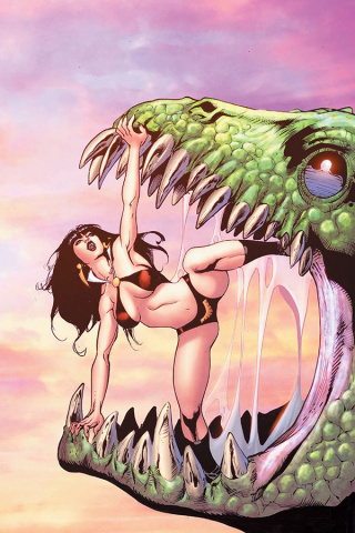 Vampirella #9 (7 Copy Castro Virgin Cover)