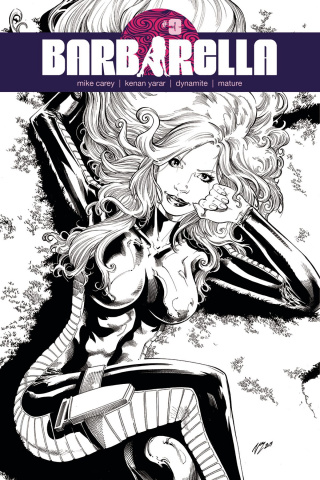 Barbarella #3 (10 Copy Cifuentes Cover)
