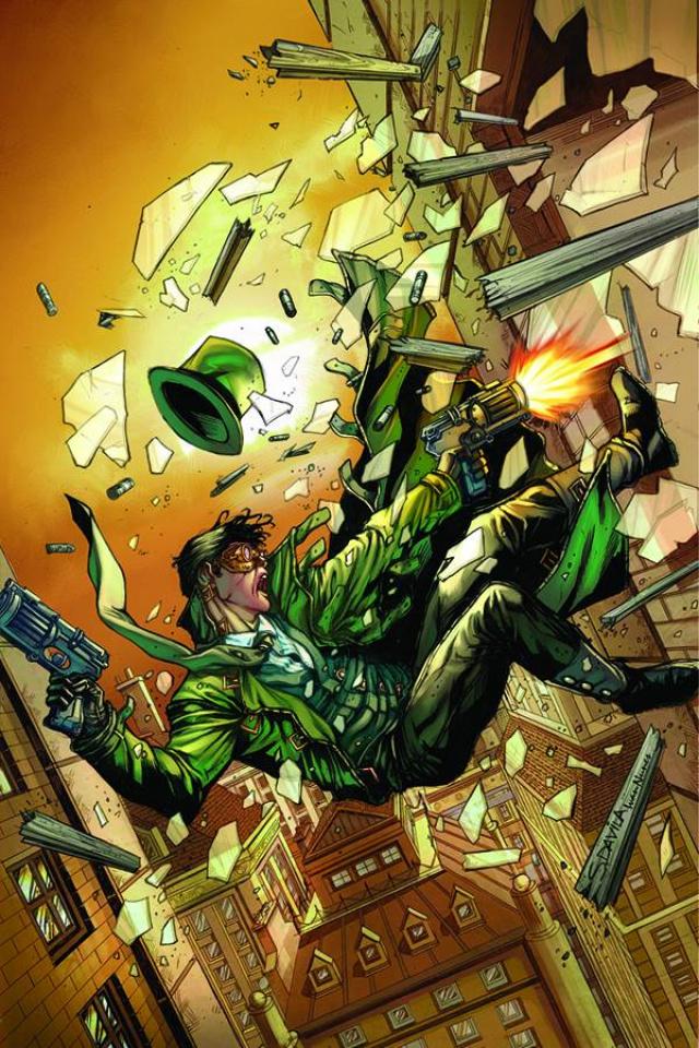 Legenderry: Green Hornet #2 (Davila Virgin Cover)