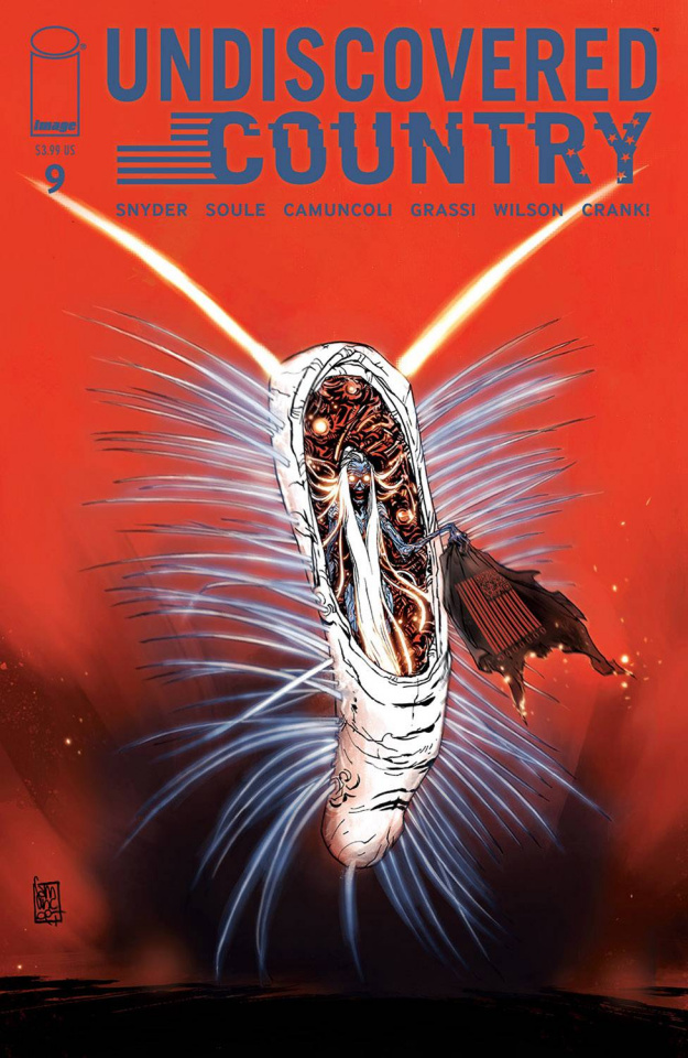 Undiscovered Country #9 (Camuncoli Cover)