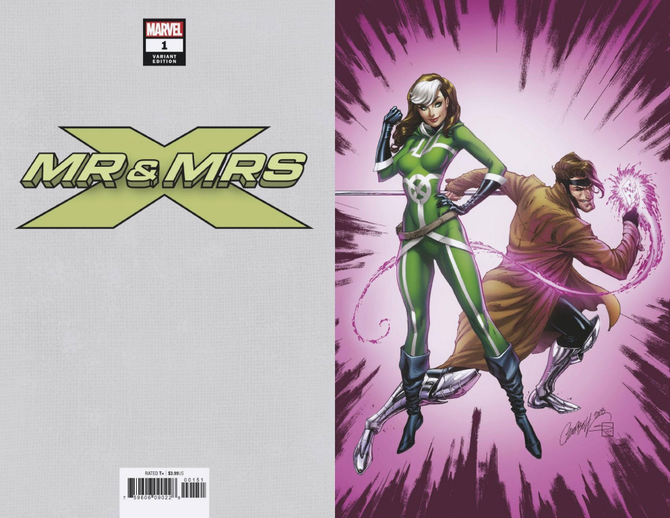 Mr. & Mrs. X #1 (Campbell Virgin Cover)