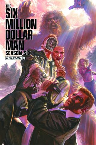The Six Million Dollar Man, Season 6 #4 (Ross Cover)