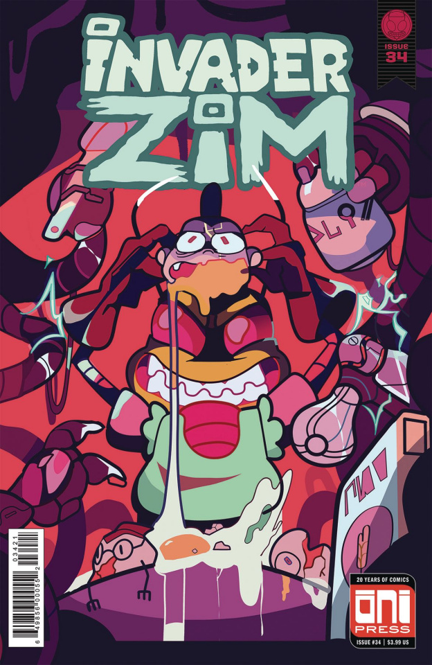 Invader Zim #34 (Mosley Cover)