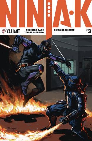 Ninja-K #3 (Troya Cover)