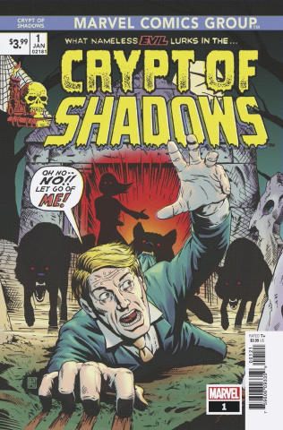 The Crypt of Shadows #1 (Christopher Cover)